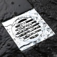 Phễu thoát sàn chống mùi hôi inox Zento TS107 (100*100)