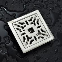 Phễu thoát sàn chống mùi hôi inox Zento TS104 (100x100)