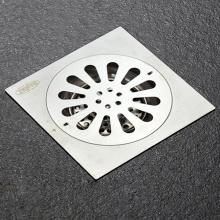 Phễu thoát sàn chống mùi hôi inox Zento TS152-L(150*150)