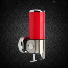 Hộp đựng dầu gội sữa tắm inox ZT405 (loại đơn màu đỏ)