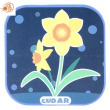 Bộ 40 thẻ 4D Ekidar hoa - quả