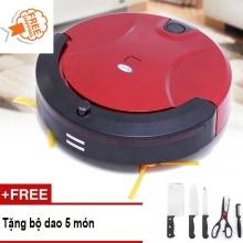 Robot hút bụi lau nhà thông minh Kachi KC-HB01 - tặng bộ dao 5 món