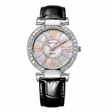 Đồng hồ nữ chính hãng Royal Crown 6116 dây da đen