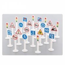 Bộ đồ chơi 24 biển báo giao thông Polesie Toys