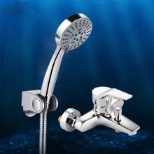 Bộ sen tắm nóng lạnh 5 chế độ nước Zento ZT 6001