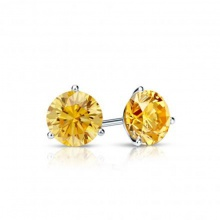 Opal hoa tai nụ đá vàng