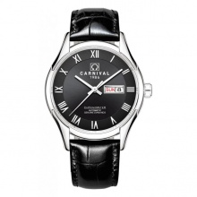 Đồng hồ nam dây da Carnival G62301.102.032