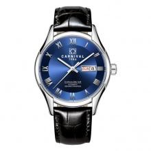 Đồng hồ nam dây da Carnival G62301.104.032