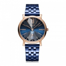 Đồng hồ nữ JA-1144 Julius Hàn Quốc dây thép