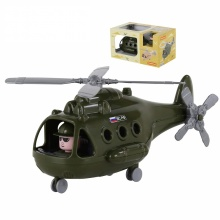 Máy bay trực thăng quân sự Alpha đồ chơi Polesie Toys