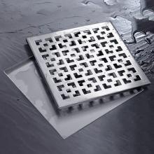 Thoát sàn aqua plus inox Zento ZT533-1L(300x300mm)