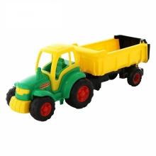 Máy kéo Champion sơ mi rơ móoc đồ chơi Polesie Toys