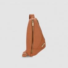 Túi đeo chéo trước ngực nam chi tiết dây kéo Idigo MB2-328-00