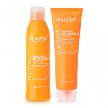 Combo dầu gội xả nuôi dưỡng và giữ màu tóc nhuộm Beaver Hydro Energizing Multi-Protection