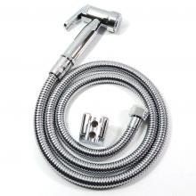 Bộ vòi xịt vệ sinh nhựa ABS mạ chrome tăng áp Eurolife EL-X06 (trắng bạc)
