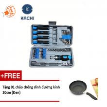 Bộ dụng cụ vặn vít MK37 Kachi - tặng chảo 20cm