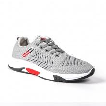 Giày nam đẹp thể thao sneaker thời trang Zapas - GS104 (Xám )