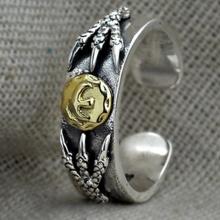 Nhẫn móng rồng bạc Thái 925 cao cấp Hadosa