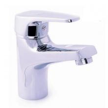 Vòi lavabo nóng lạnh đồng mạ chrome Eurolife EL-3002 (trắng bạc)