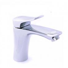Vòi lavabo nóng lạnh đồng mạ chrome Eurolife EL-1002S (trắng bạc)