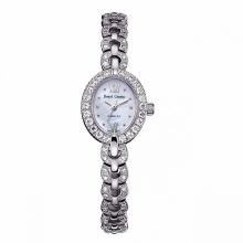 Đồng hồ nữ chính hãng Royal Crown 2100 dây đá vỏ trắng