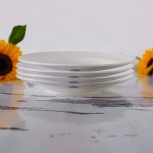Combo 4 đĩa súp trắng 18