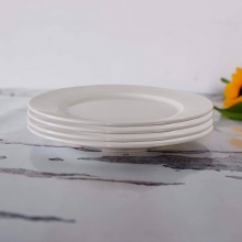 Combo 4 đĩa tròn trắng 20
