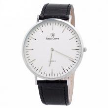 Đồng hồ nam chính hãng Royal Crown 7601M dây da đen