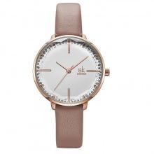 Đồng hồ nữ chính hãng Shengke UK K8048L-04