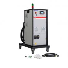Cuộn dây cảm ứng cho máy gia nhiệt trung tần 44KW, dài 30m, đường kính 19mm, chịu nhiệt đến 180 độ C (350200530)