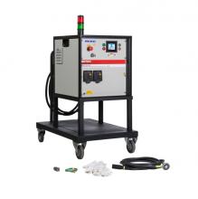 Cuộn dây cảm ứng cho máy gia nhiệt trung tần, dài 15m, đường kính 12mm, chịu nhiệt đến 180 độ C (350200815)