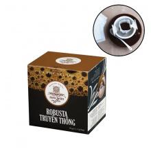 Cà phê túi lọc Robusta truyền thống hộp 10 gói x 12g