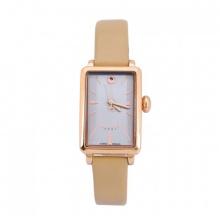 Đồng hồ nữ dây da Julius Hàn Quốc JA-941 JU1156 - viền vàng