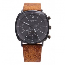 Đồng hồ nam Julius Hàn Quốc JAH-098D JU1245 - nâu mặt đen