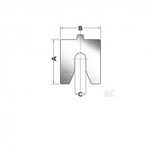 Miếng nêm chèn cho cảo thuỷ lực Betex Shím 35-040MT (B035040), Betex-Holland