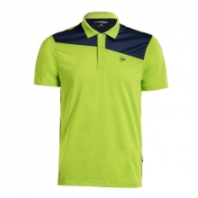 Áo tennis nam Dunlop - DATES8043-1C-GN (xanh neon)
