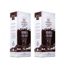 Cà phê pha phin Arabica cầu đất ( 2 hộp x 250g)