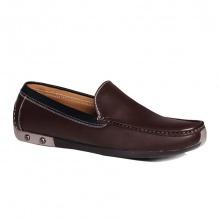 Giày lười đế mềm  GL79 nâu