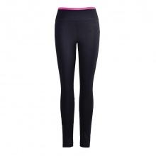 Quần gym nữ Dunlop - DQGYS8110-2D-PK (đen - cạp hồng)