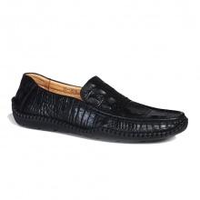 Giày lười nam GL61 dập vân cá sấu
