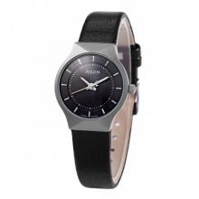 Đồng hồ nữ JA-577 Julius Hàn Quốc - Đen dây da
