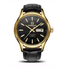 Đồng hồ nam dây da Carnival G62302.102.332