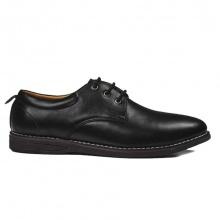 Giày da nam buộc dây TN18 đen