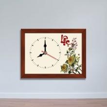 Tranh đồng hồ để bàn chữ Lộc - đồng hồ tiện ích WC076