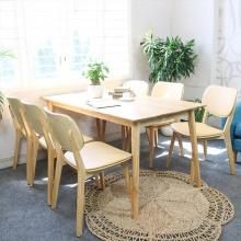 Bộ bàn ăn Venus bọc Simily nhiều màu 4 ghế
