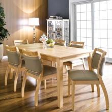 Bộ bàn Dotori màu tự nhiên 6 ghế