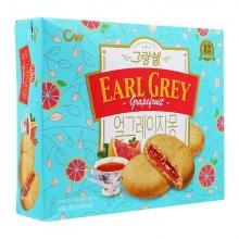 Bánh quy vị bưởi trà Earl Grey CW Hàn Quốc 266g/hộp