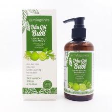 Dầu gội bưởi - ngăn ngừa rụng tóc, kích thích mọc tóc Milaganics (200ml / chai)