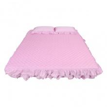 Ga phủ trần nhúng tầng - màu hồng - 160 x 200 cm