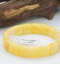 Vòng hổ phách Balan vàng đặc biệt cao cấp Hadosa - ABB399
